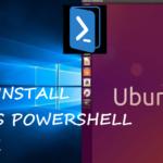 How to Install or Remove Windows PowerShell in Ubuntu/Lubuntu Linux