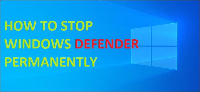 remove windows defender