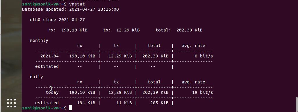 How to install vnstat in ubuntu rhel centos almalinux ?