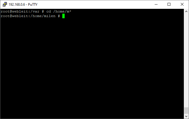 cd command linux