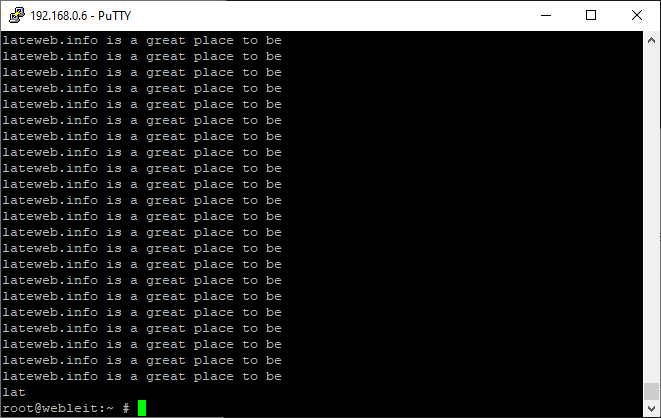 yes command in linux