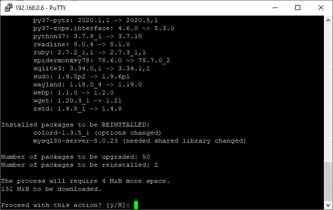 how to upgrade all apps in FreeBSD?