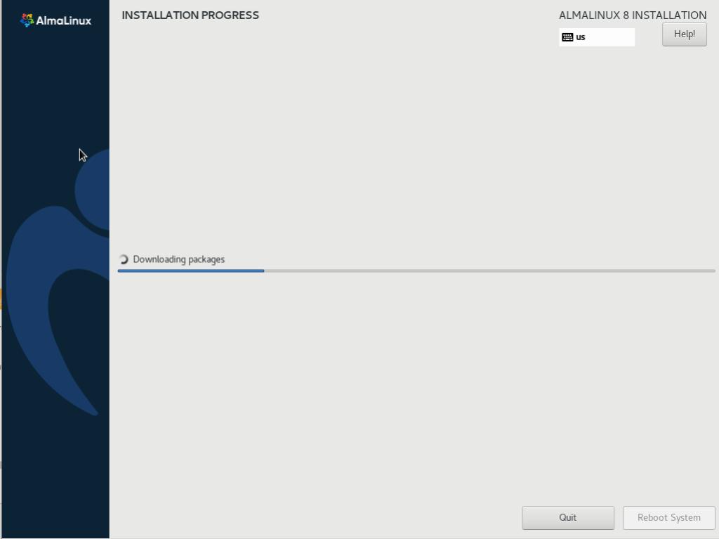 How to install almalinux on hyper-v?