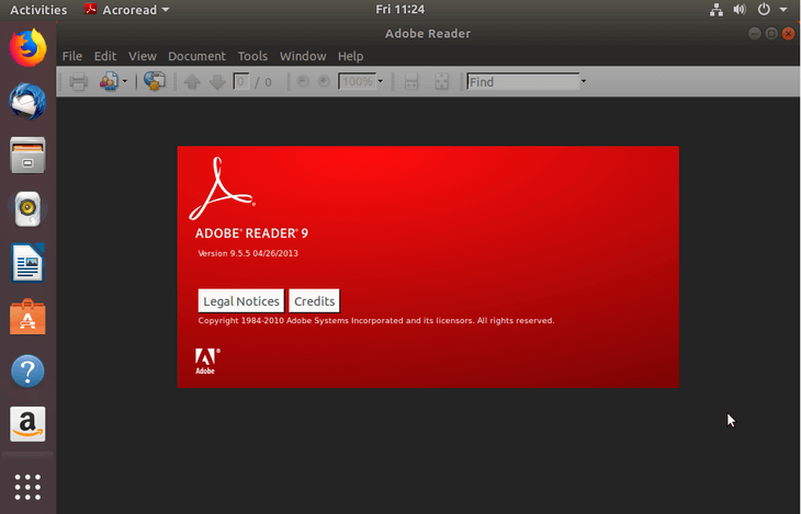 adobe reader ubuntu 2022
