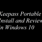 Keepass Portable Install and Review