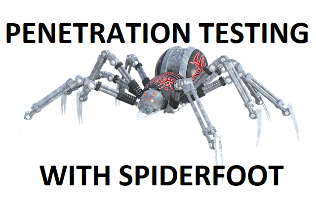 spiderfoot network penetration testing tool
