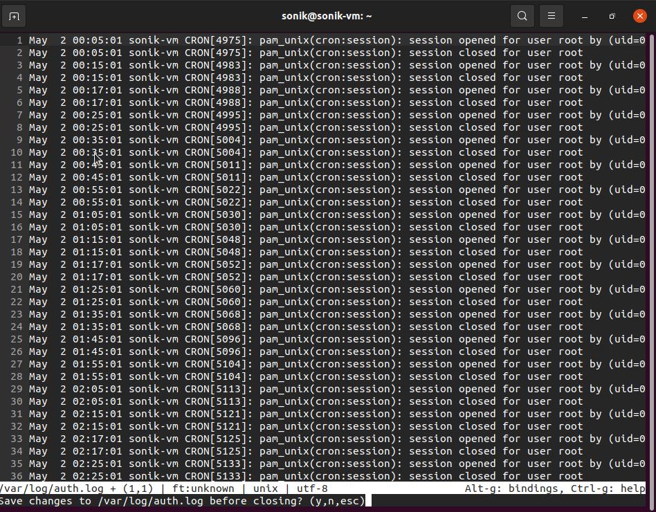 Micro text editor screenshot in ubuntu 21.04 Linux | lateweb.info