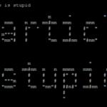 output of toilet command in ubuntu 21.04 linux | lateweb.info