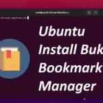 Ubuntu Install Buku Bookmark Manager From The Terminal