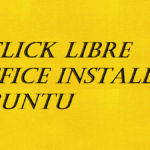 1 Click Libre Office Install on Ubuntu